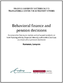 Behavioral finance and pension decisions Lampros Romanos_thumbnail