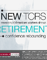 Retirement Confidence Rebounding